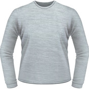 Silver Tonal Heather - Full Front Logo